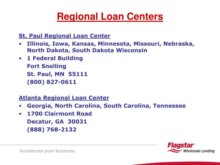 St. Paul Regional Loan Center