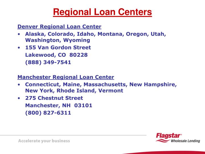 Denver Regional Loan Center