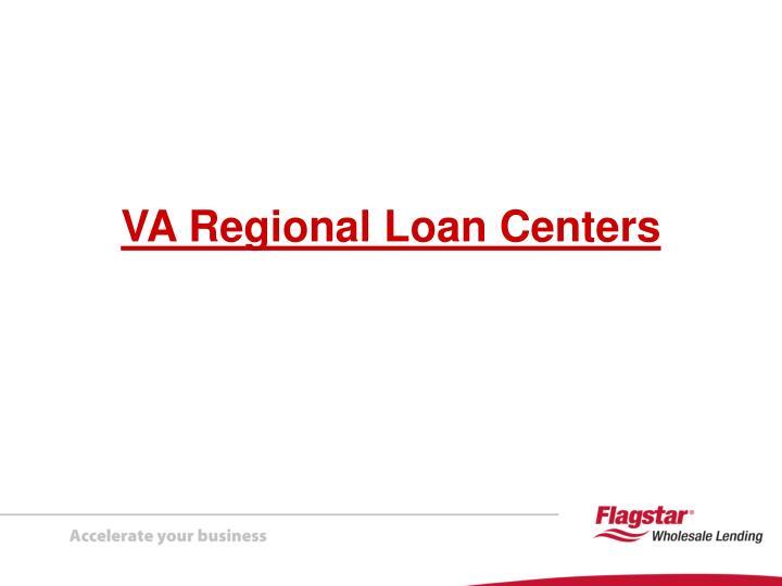 VA Regional Loan Centers
