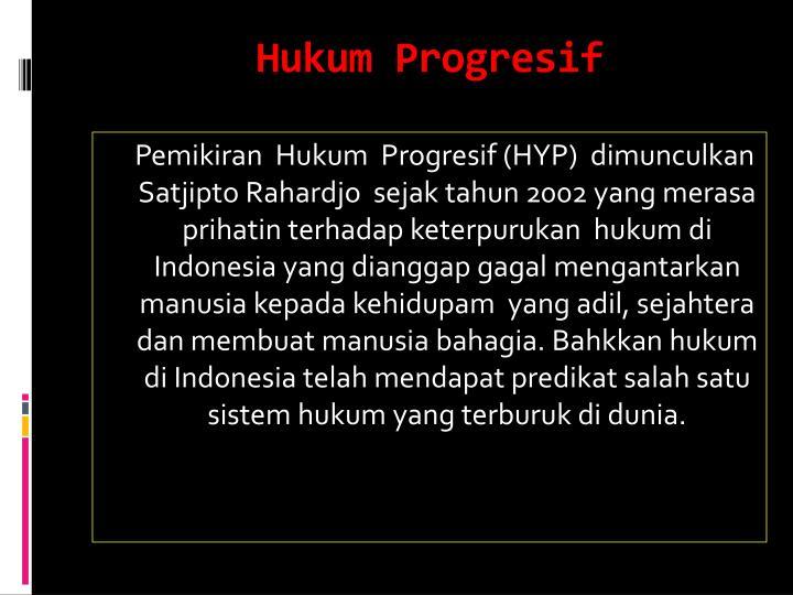 Hukum Progresif
