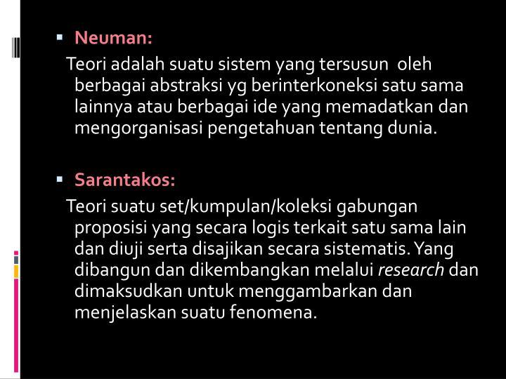 Neuman: