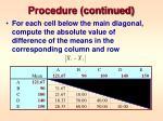 procedure continued2