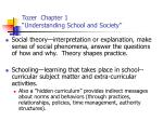 tozer chapter 1 understanding school and society1