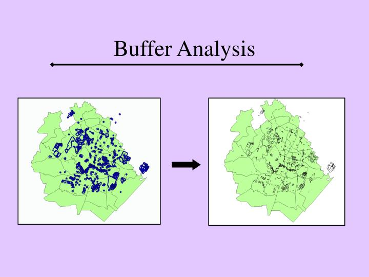 Buffer Analysis