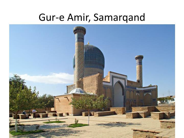 Gur-e Amir, Samarqand