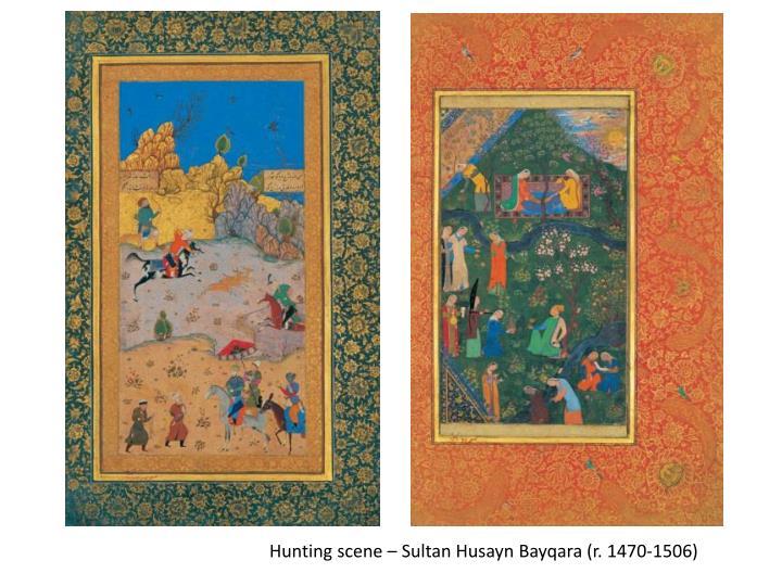 Hunting scene – Sultan