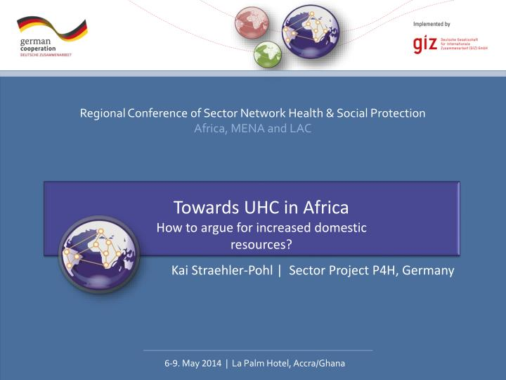 Towards UHC in Africa