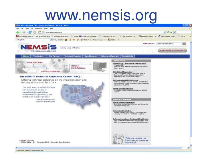 www.nemsis.org