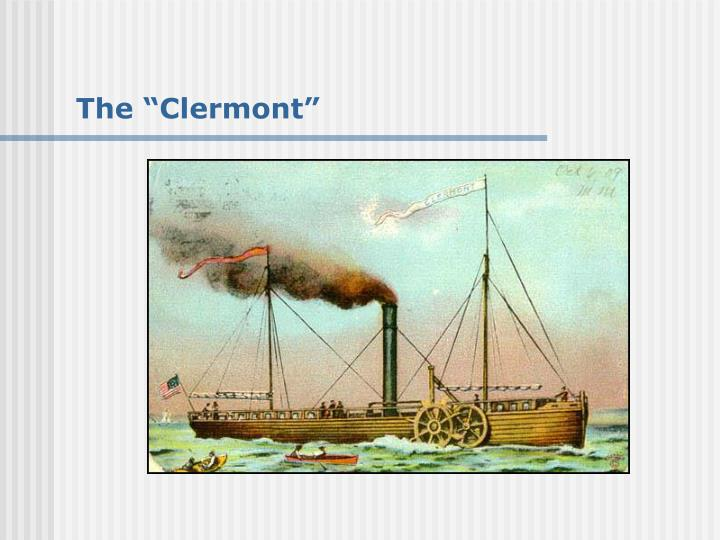 "The ""Clermont"""