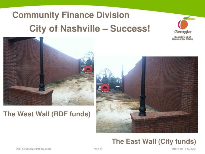 City of Nashville – Success!