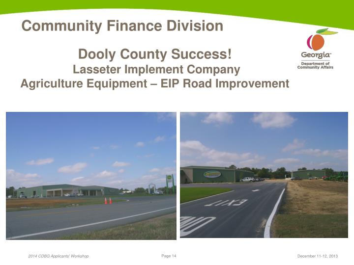 Dooly County Success!