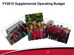 fy2015 supplemental operating budget1