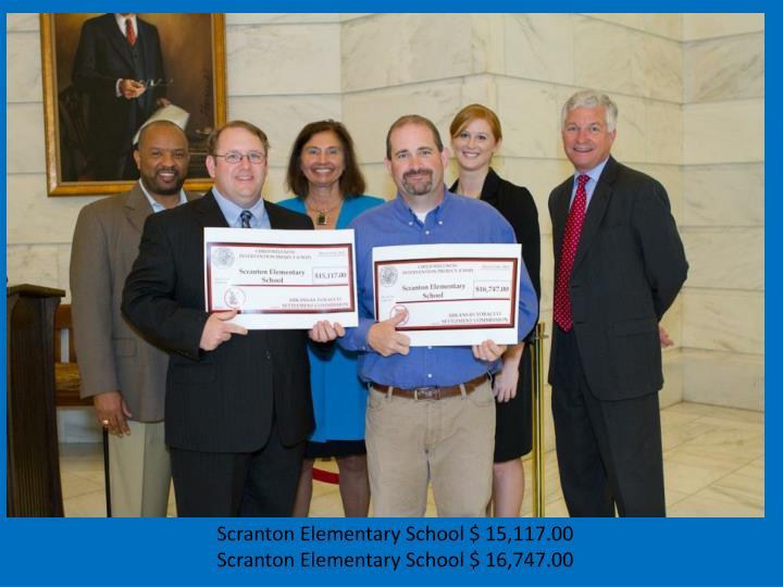 Scranton Elementary School $ 15,117.00