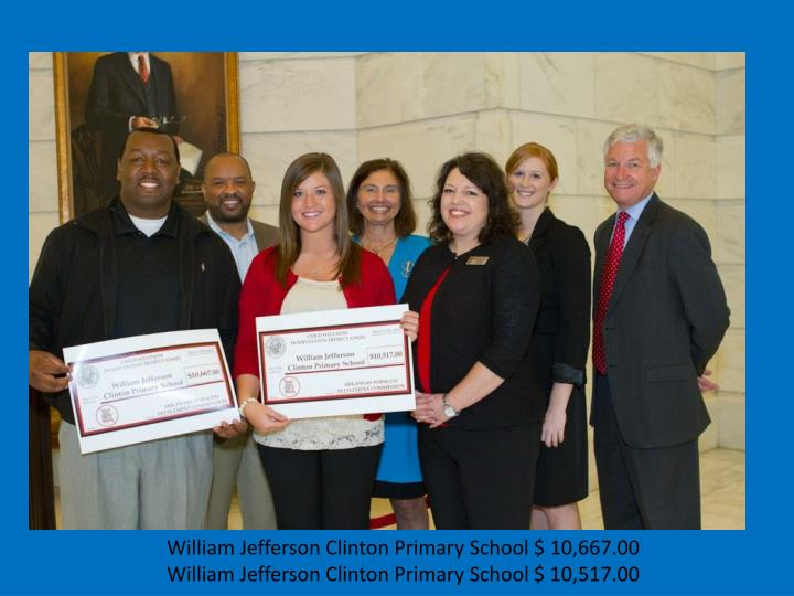 William Jefferson Clinton Primary School $ 10,667.00