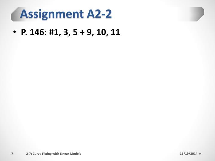Assignment A2-2