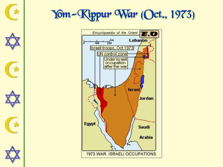 Yom-Kippur War (Oct., 1973)
