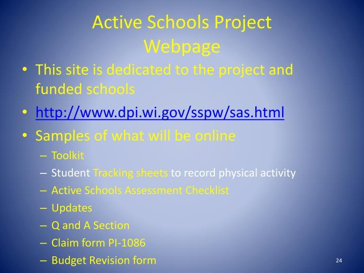 Active Schools Project