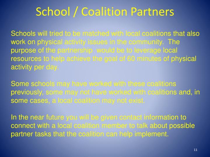 School / Coalition Partners