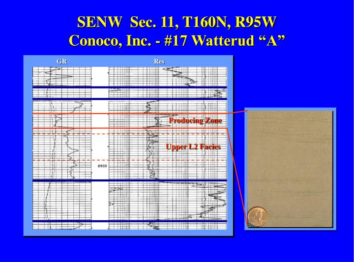 SENW  Sec. 11, T160N, R95W