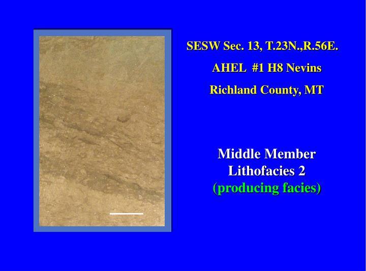 SESW Sec. 13, T.23N.,R.56E.