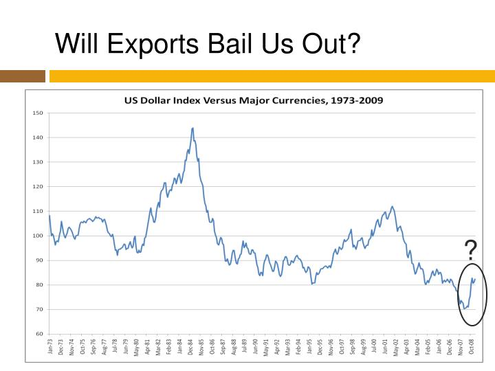 Will Exports Bail Us Out?