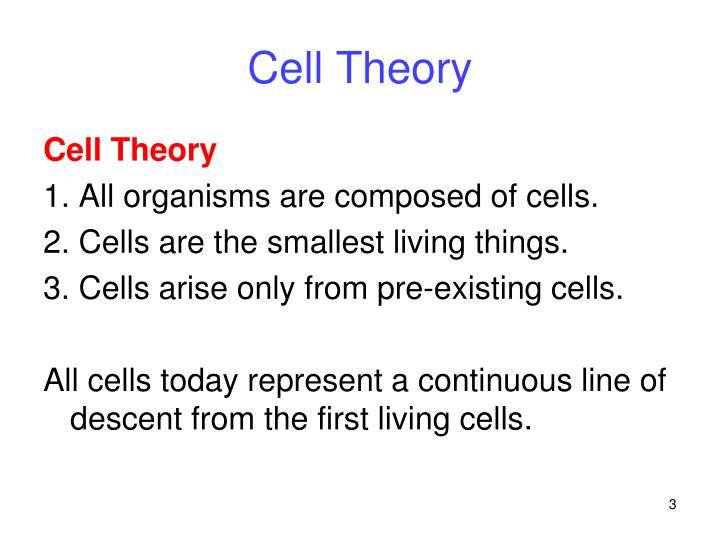 Cell theory1