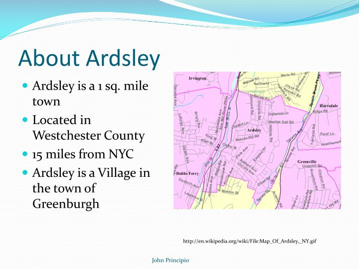 About ardsley