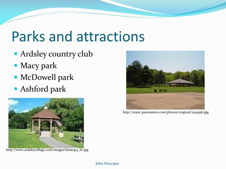 Parks and attractions