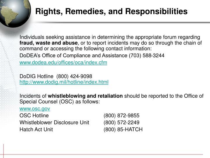 Individuals seeking assistance in determining the appropriate forum regarding