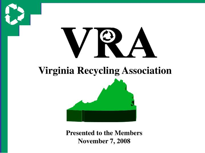Virginia Recycling Association