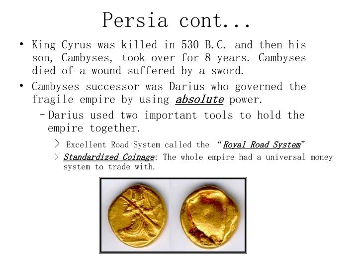 Persia cont...