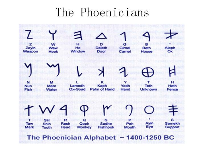 The Phoenicians