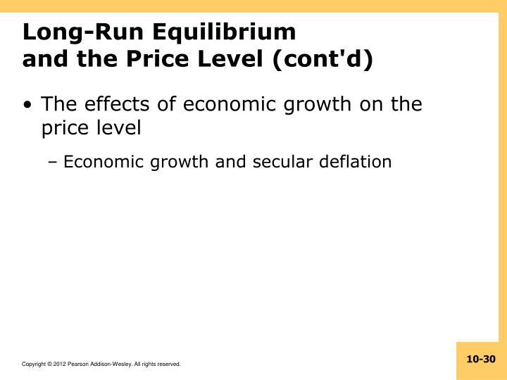 Long-Run Equilibrium