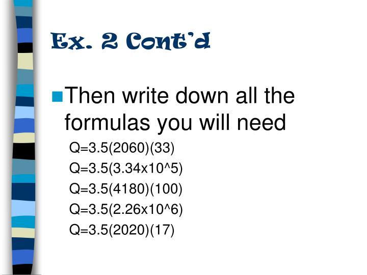 Ex. 2 Cont'd