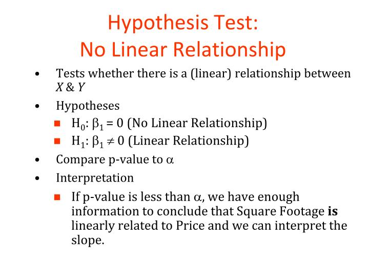 Hypothesis Test: