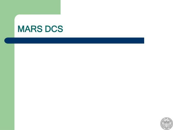 MARS DCS