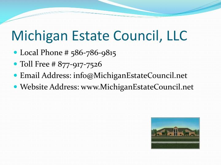Michigan Estate Council, LLC
