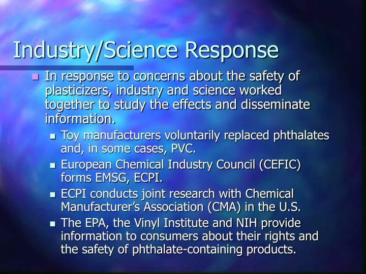 Industry/Science Response