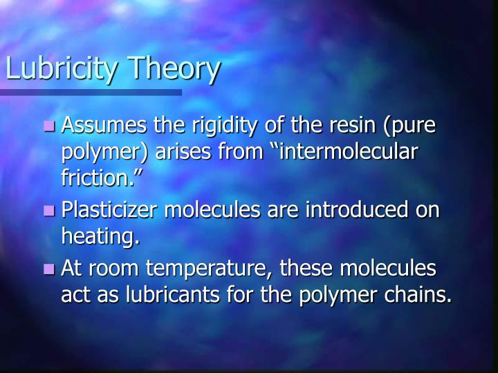 Lubricity Theory