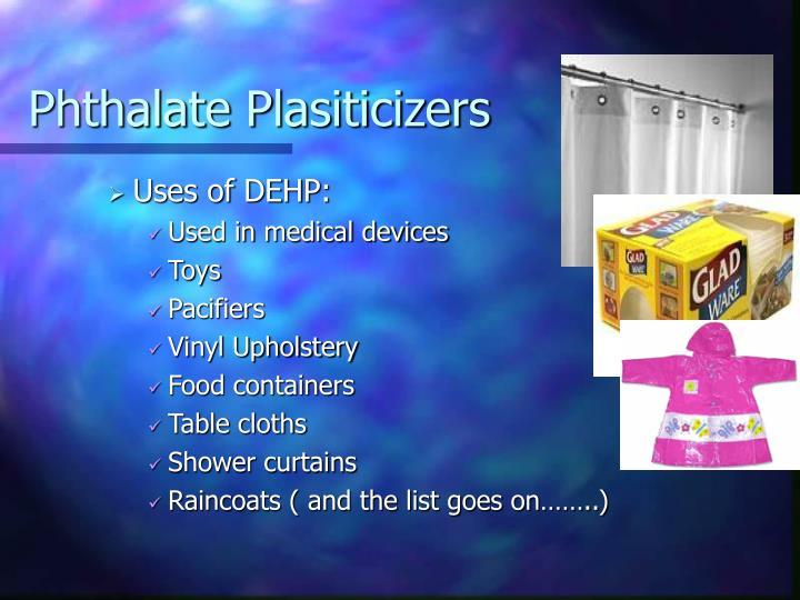 Phthalate Plasiticizers