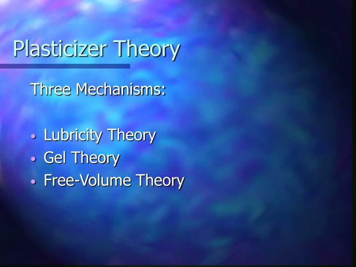 Plasticizer Theory