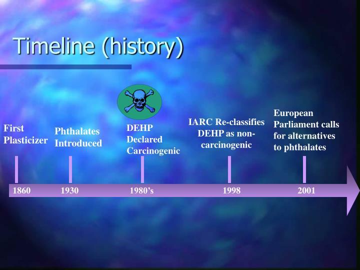 Timeline (history)