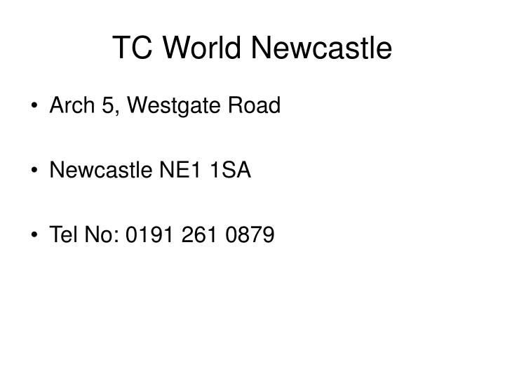 TC World Newcastle