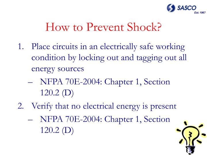 How to Prevent Shock?