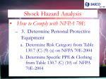 shock hazard analysis