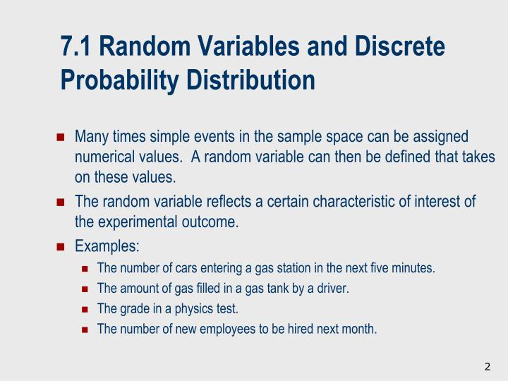 7 1 random variables and discrete probability distribution