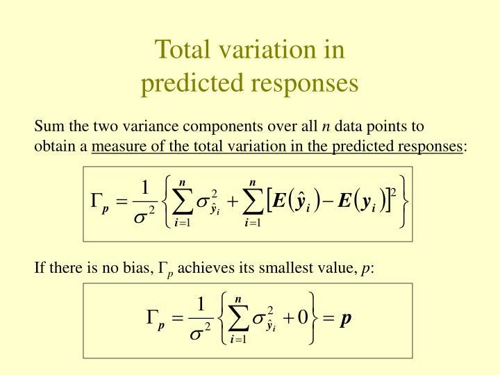 Total variation in