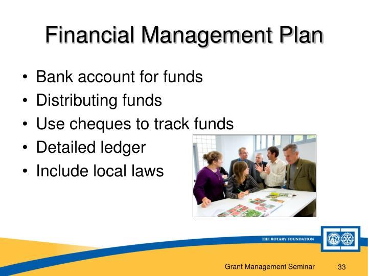 Financial Management Plan