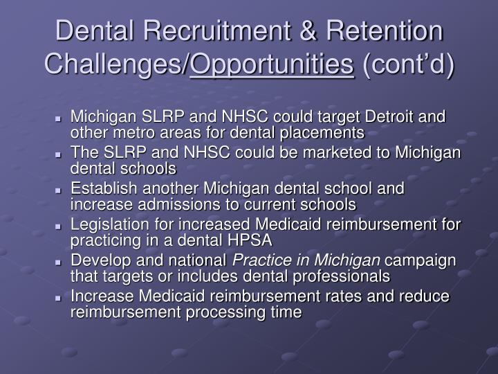 Dental Recruitment & Retention Challenges/