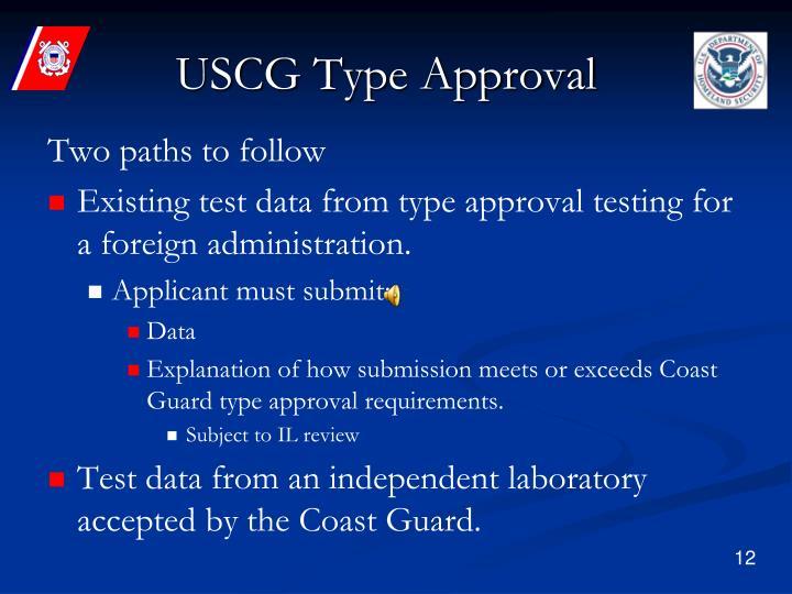 USCG Type Approval